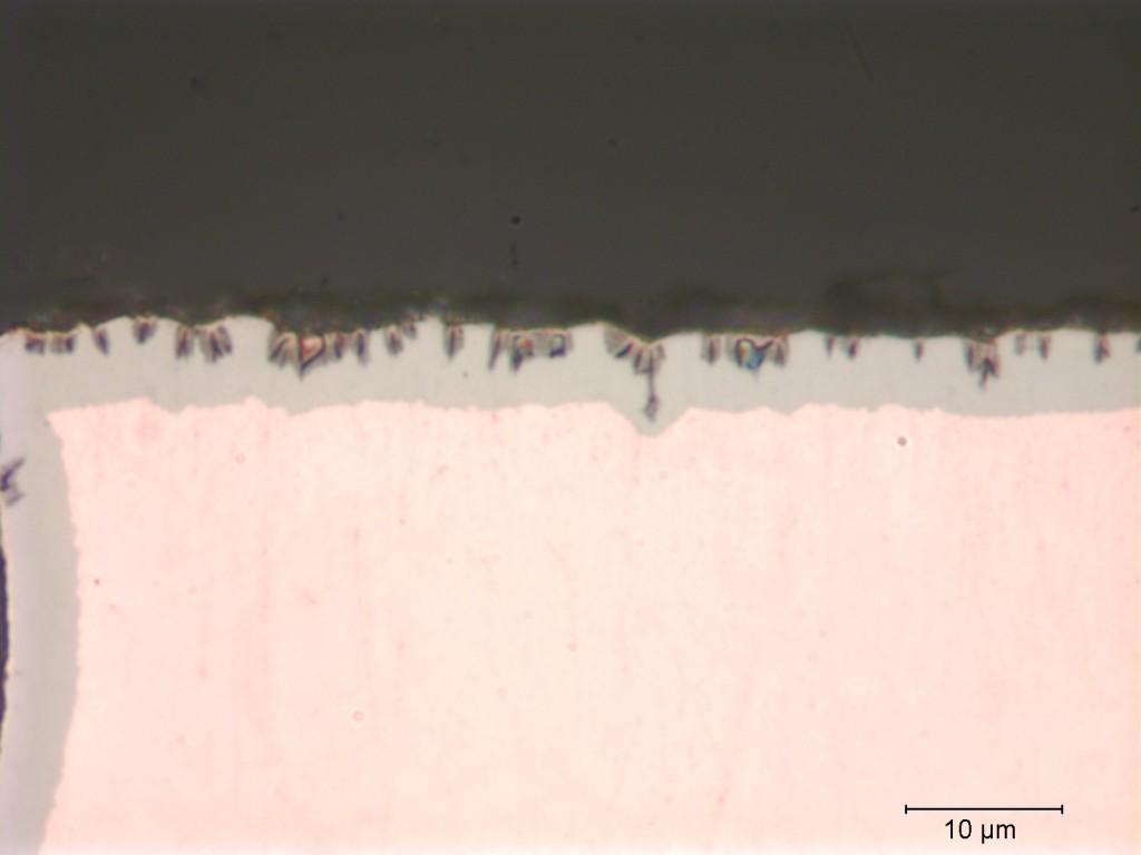 Printed circuit board - black pad defect