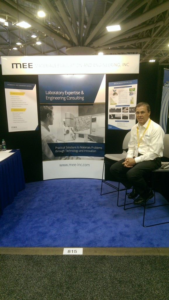 MEE CEO, Larry Hanke, at previous MD&M event